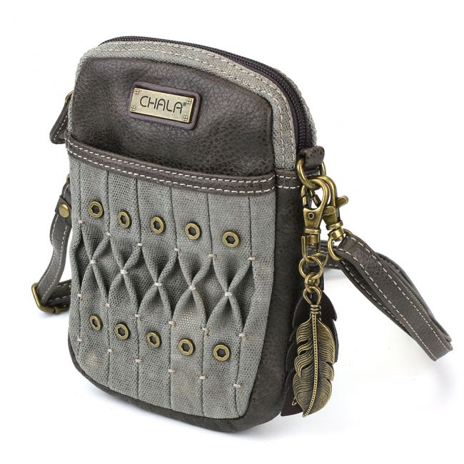 Origami Olive - Chala Cell Phone Cross Body