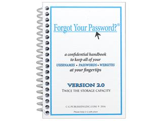 CG Publishing Forgot Your Password Book
