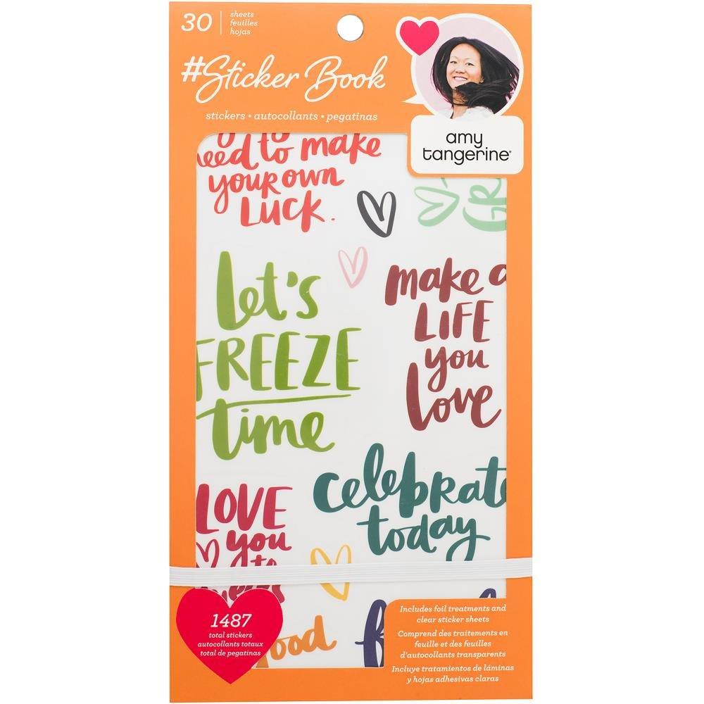 Designer #Sticker Book- Amy Tangerine
