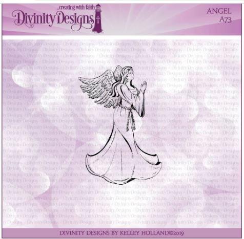Angel Stamp  Set- Divinity Designs