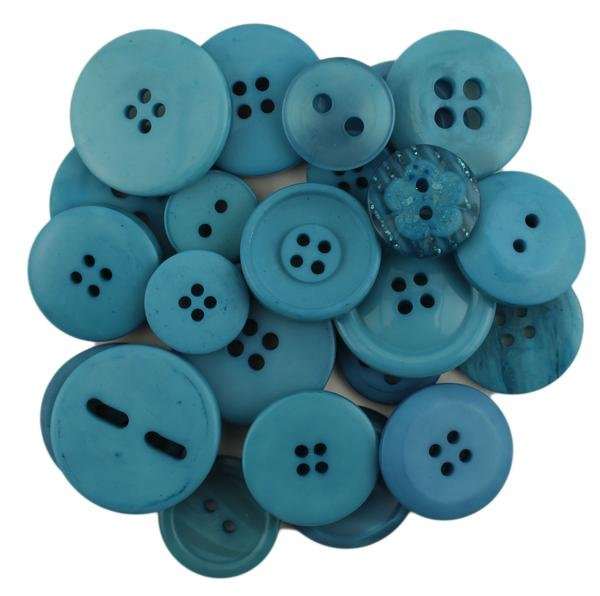 Button Basics-SKY BLUE