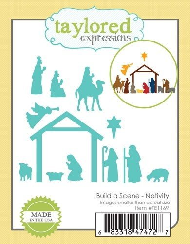 Taylored Expressions Die- Build a Scene Nativity