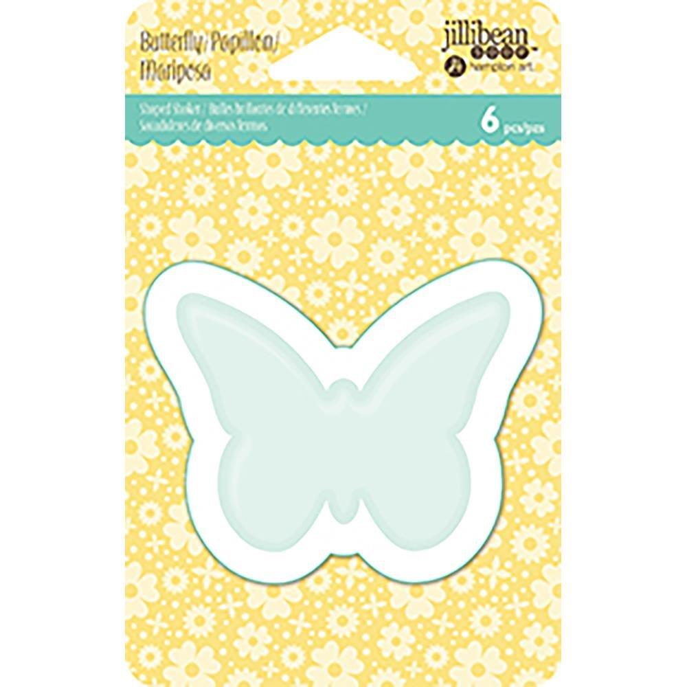 Jillibean Soup Shaker Insert 6/Pkg- Butterfly