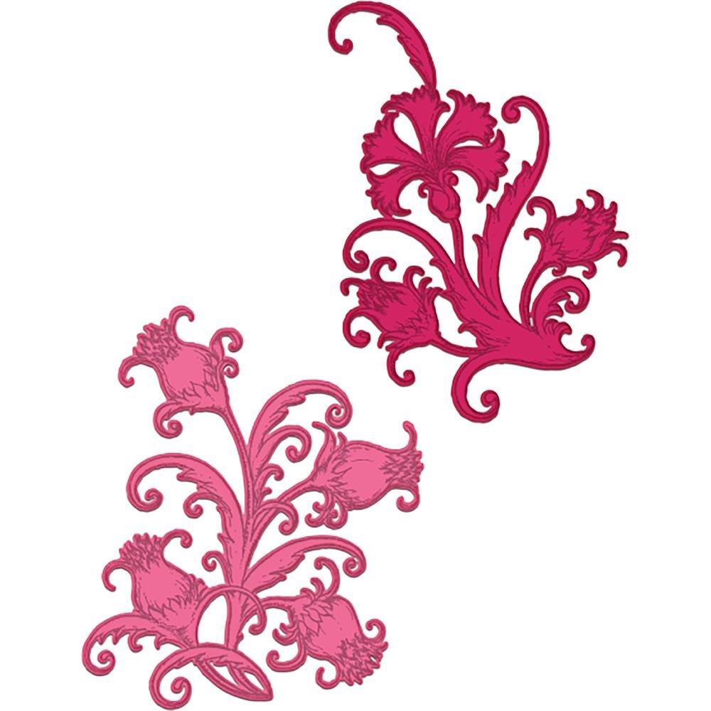 Heartfelt Creations-Fanciful Carnation Die Set