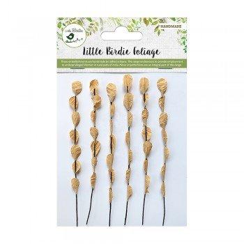 Dry Leaves Embellishment- Little Birdie