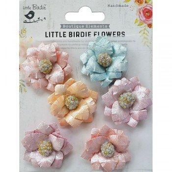 Inaya VIvid Palette Flowers 6pc- Little Birdie