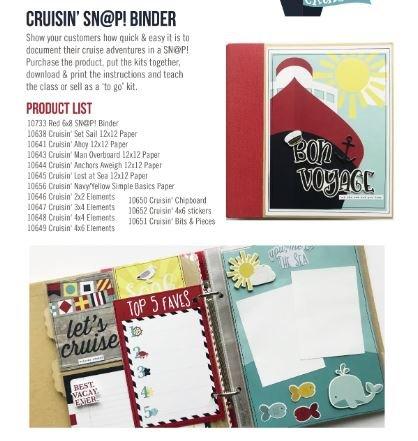 Cruisin' 6x8 Mini Album Kit
