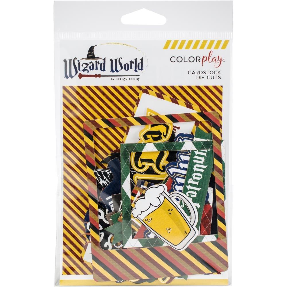 Wizard World Ephemera Cardstock Die-Cuts