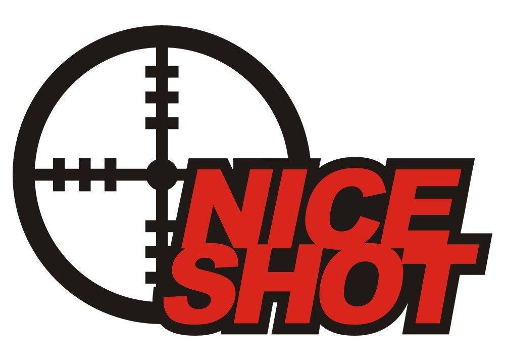 NICE SHOT - DIE CUT - Want2Scrap