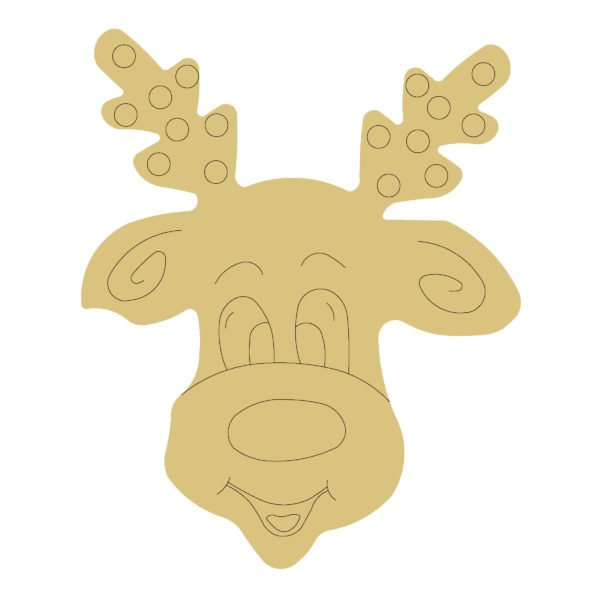 REINDEER by Line 18 MDF Cut Out