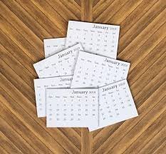 2020 Mini Tear-Off Calendar