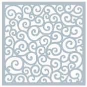 Gina K Designs Art Stencil Rounded Swirl