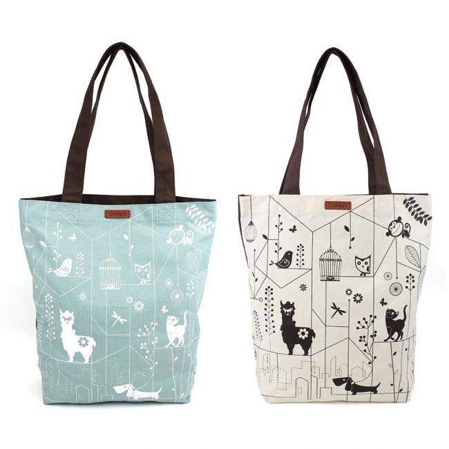 Eco Bag Chala Pals Ivory