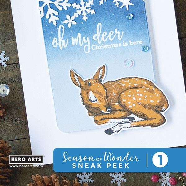 Hero Arts Frame Cuts- Color Layering Fawn