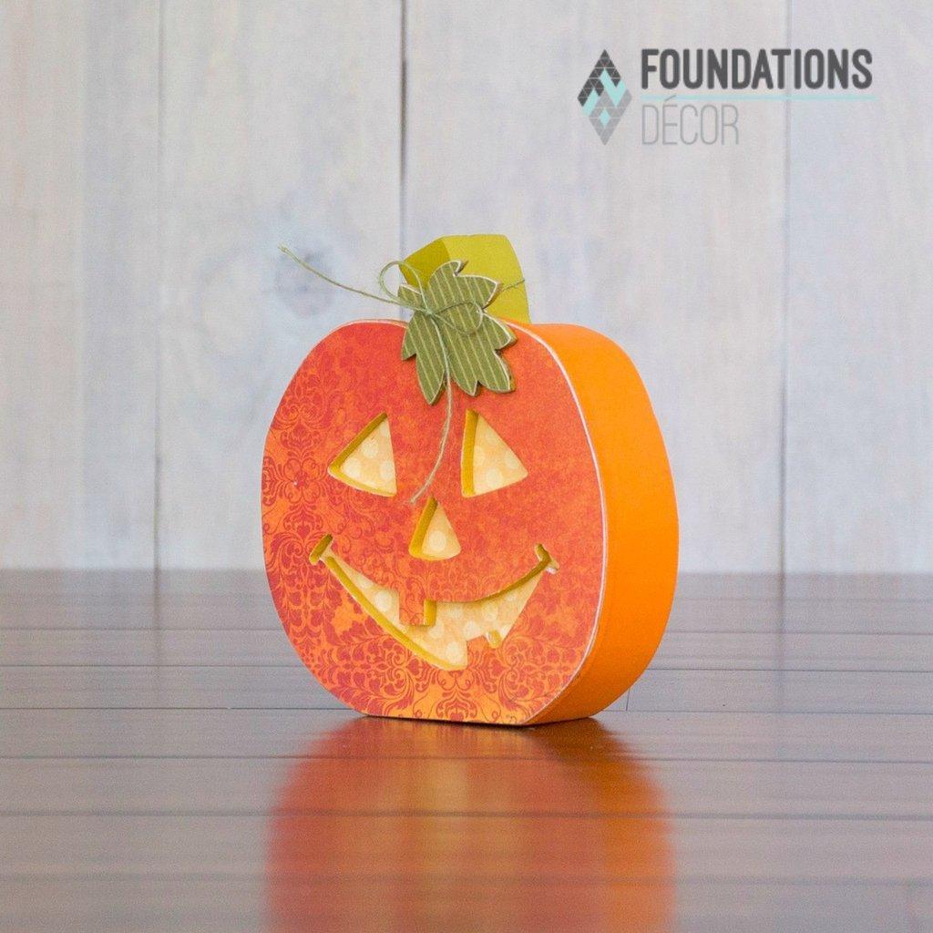 Foundations Decor- Home October O Jack-o-lantern