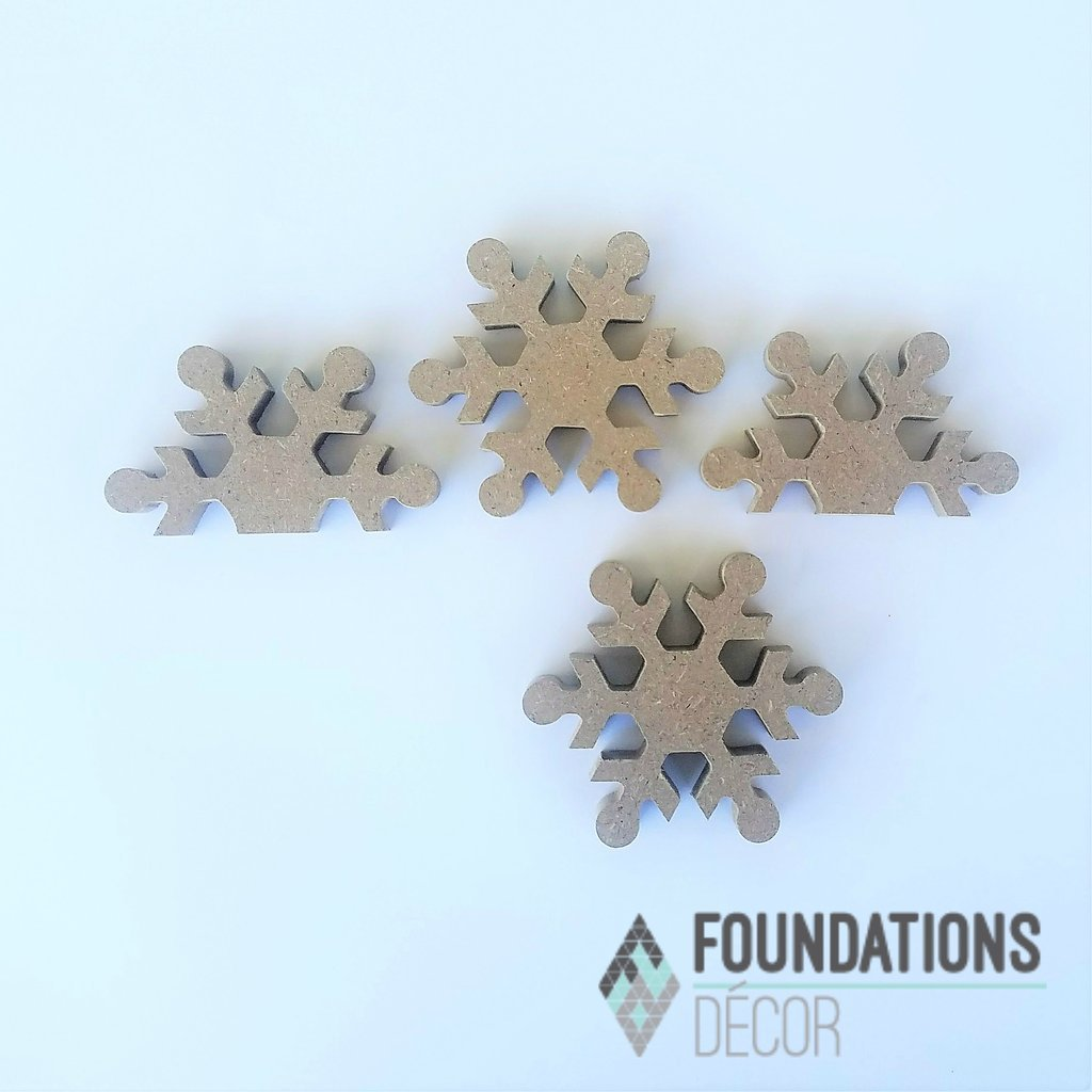 Foundations Decor- Snowflakes for Barrel