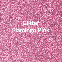 Siser HT Glitter - Flamingo Pink 10x12