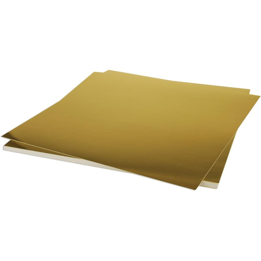 Bazzill Cardstock- Gold Foil