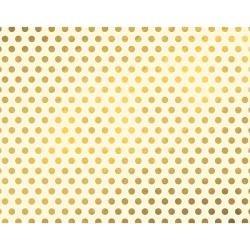 WeR Poster Brd-GOLD DOT 22x28