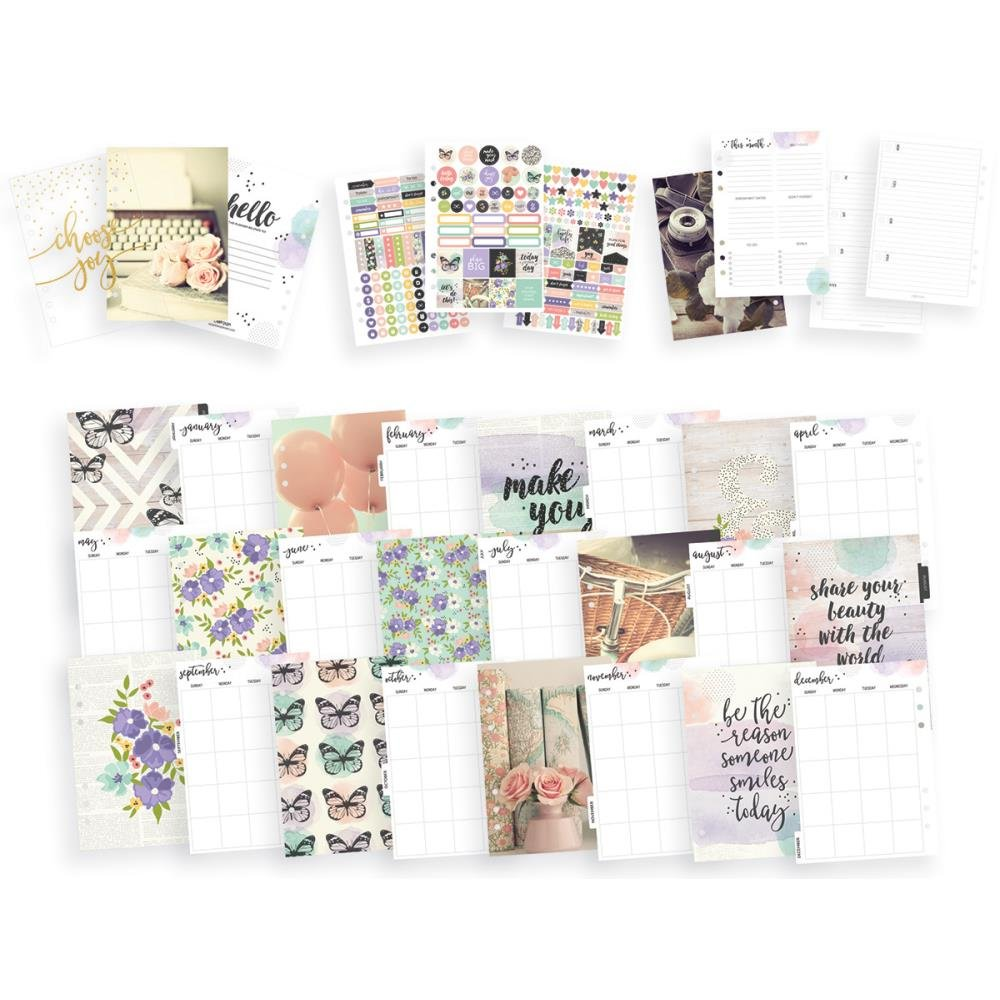 A5 Planner Boxed Set Bliss- Grape