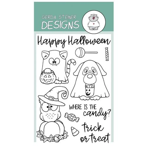 Where is the Candy- Gerda Steiner Designs 4X6 Clear Stamp Set