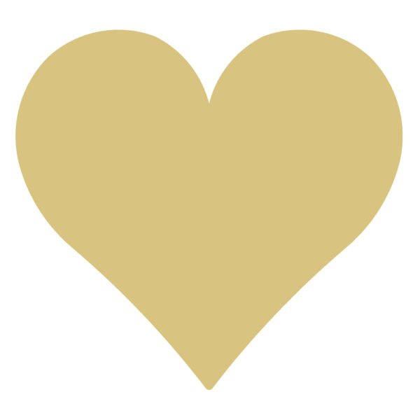 HEART 6 MDF Cut Out