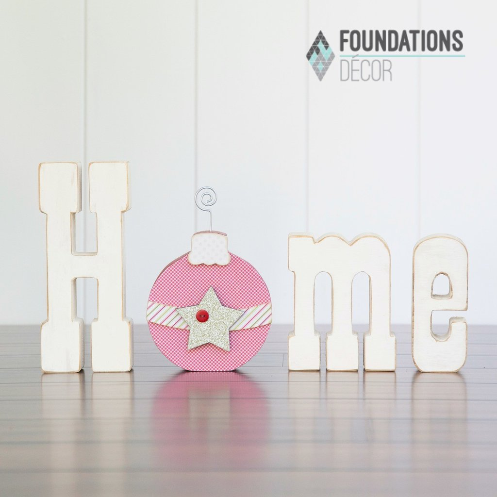 Foundations Decor- Home December O Ornament
