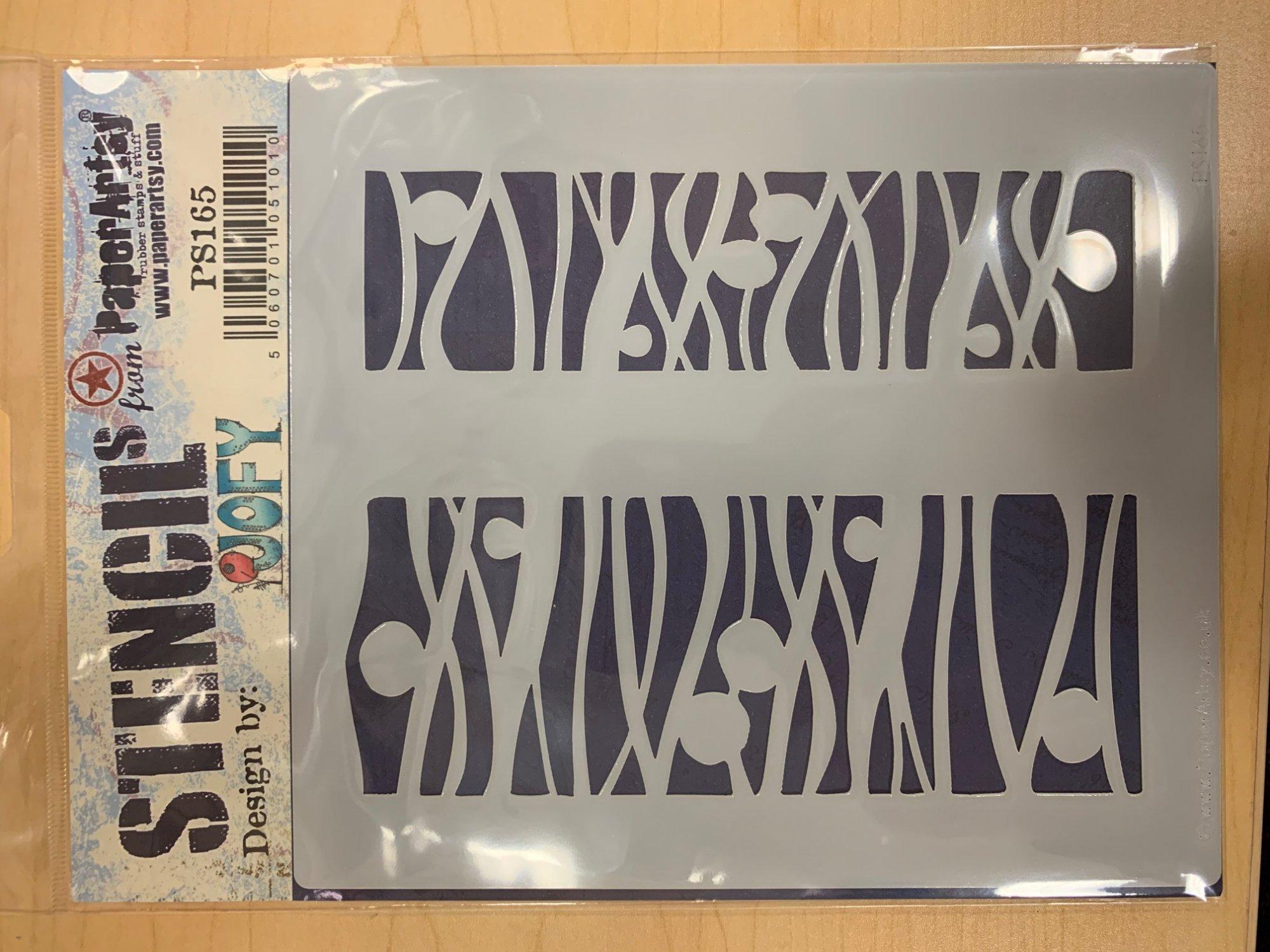 PA Stencil 165 JOFY - Paper Artsy
