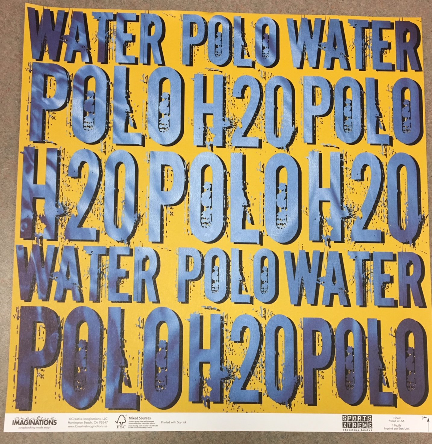 CI- WATER POLO (Ch Deal)