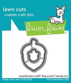 big acorn - lawn cuts -Lawn Fawn