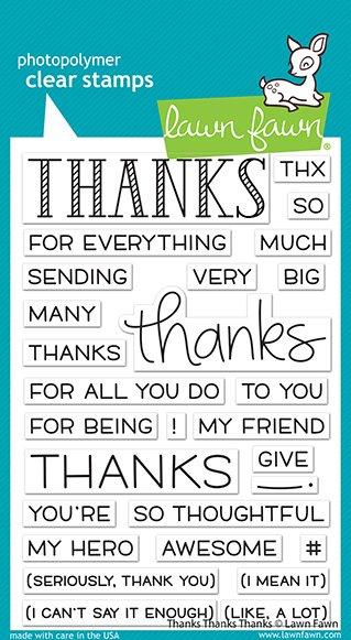 thanks thanks thanks -Lawn Fawn