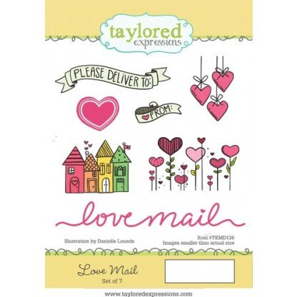 Taylored Expressions Stamp- Love Mail