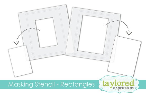 6x6 Masking Stencil-RECTANGLES Taylored Expressions