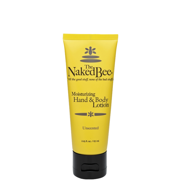Hand & Body Lotion-Unscented 2.25oz- The Naked Bee