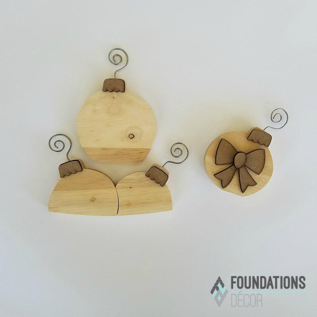 Foundations Decor- Ornaments for Barrel