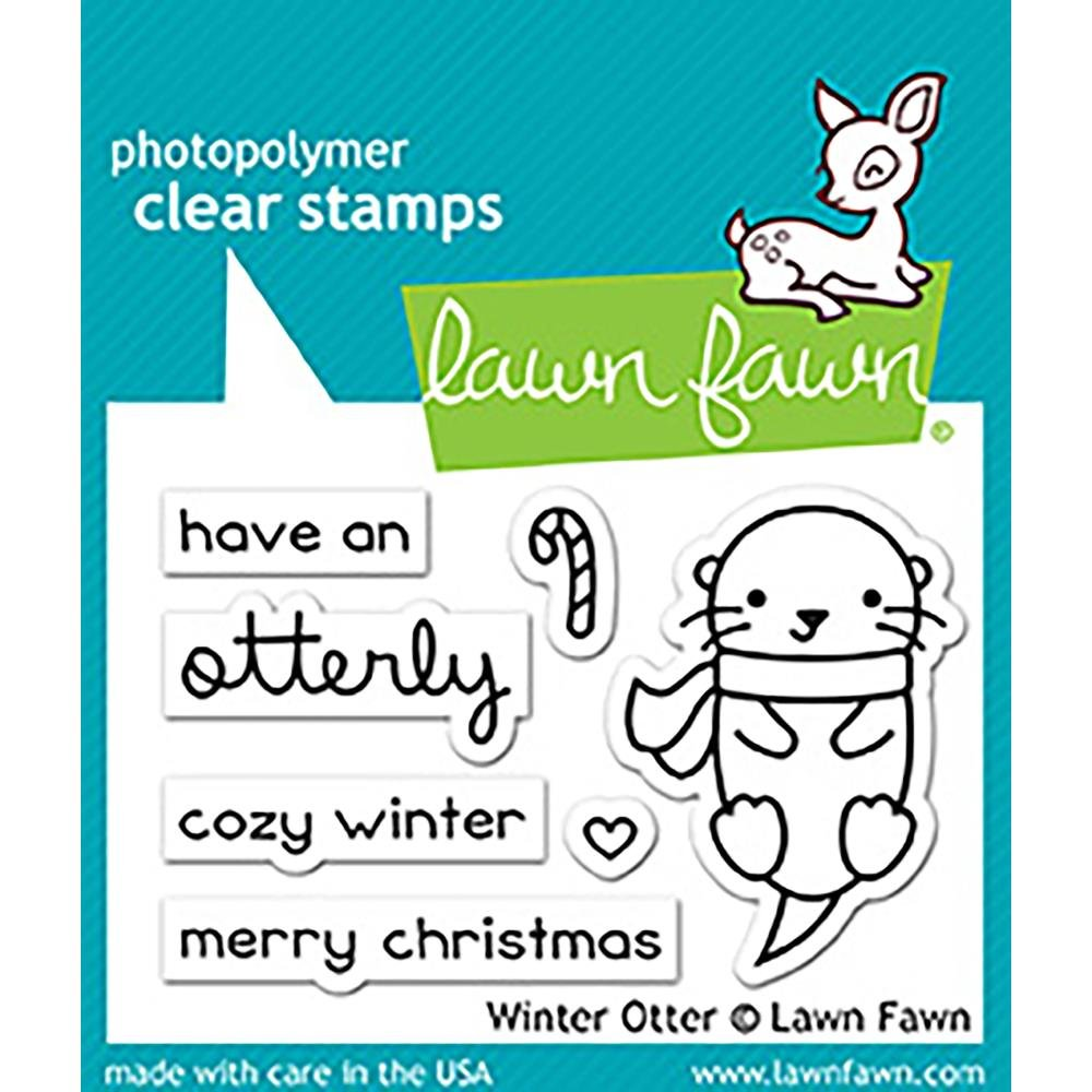 Lawn Fawn Stamps- Winter Otter