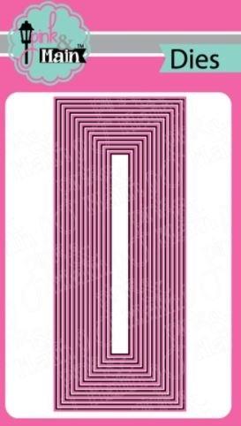 Layered Slim Line Dies- Pink and Main