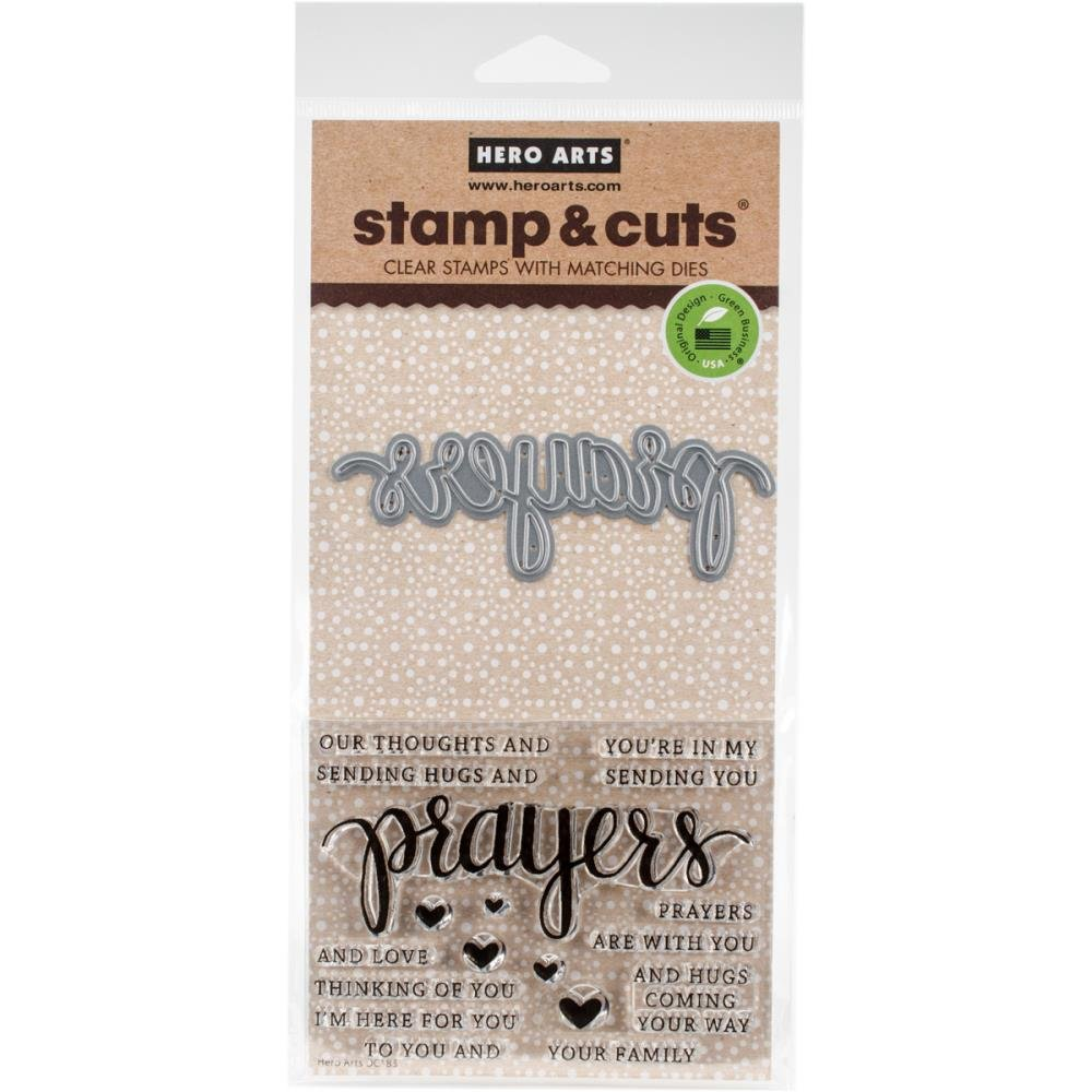 Hero Arts Prayers Stamp & cut