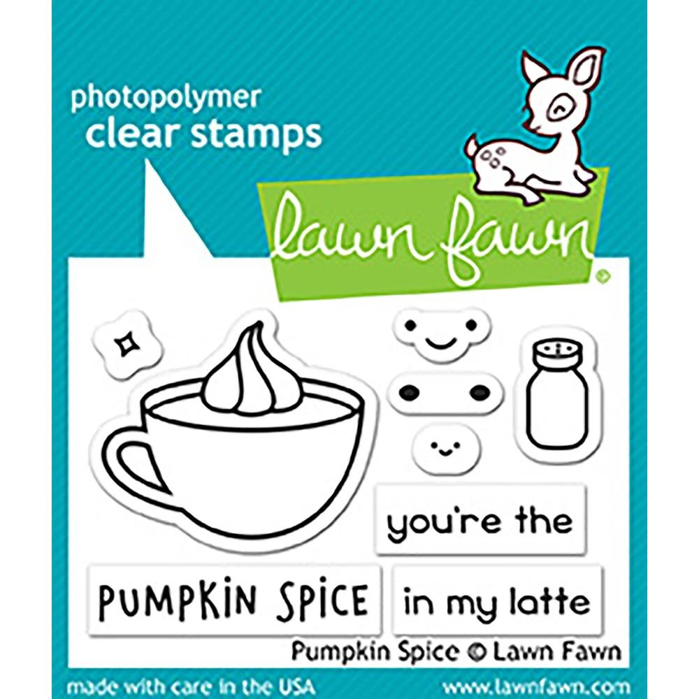 Lawn Fawn Stamps- Pumpkin Spice