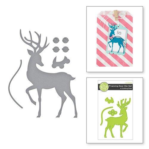 Fun Stampers Journey - Dies - Prancing Deer Set