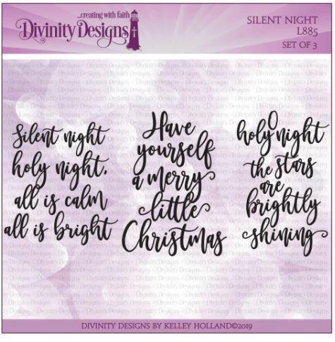 Silent Night Stamp  Set- Divinity Designs