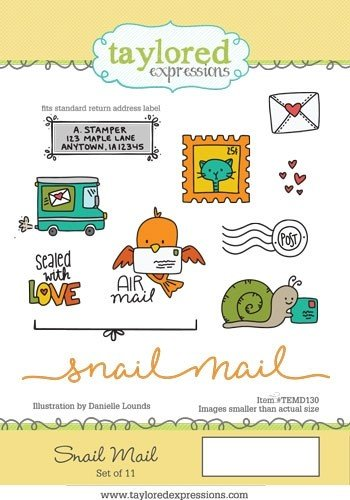 Taylored Expressions Stamp- Snail Mail