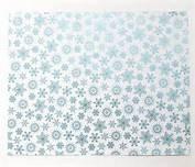 WeR Poster Brd- Snowflake 22x28