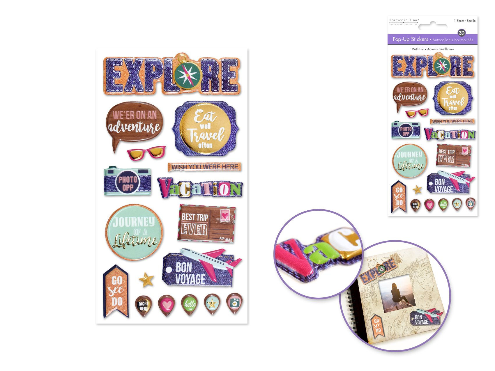 Pop-Up Stickers- Explore