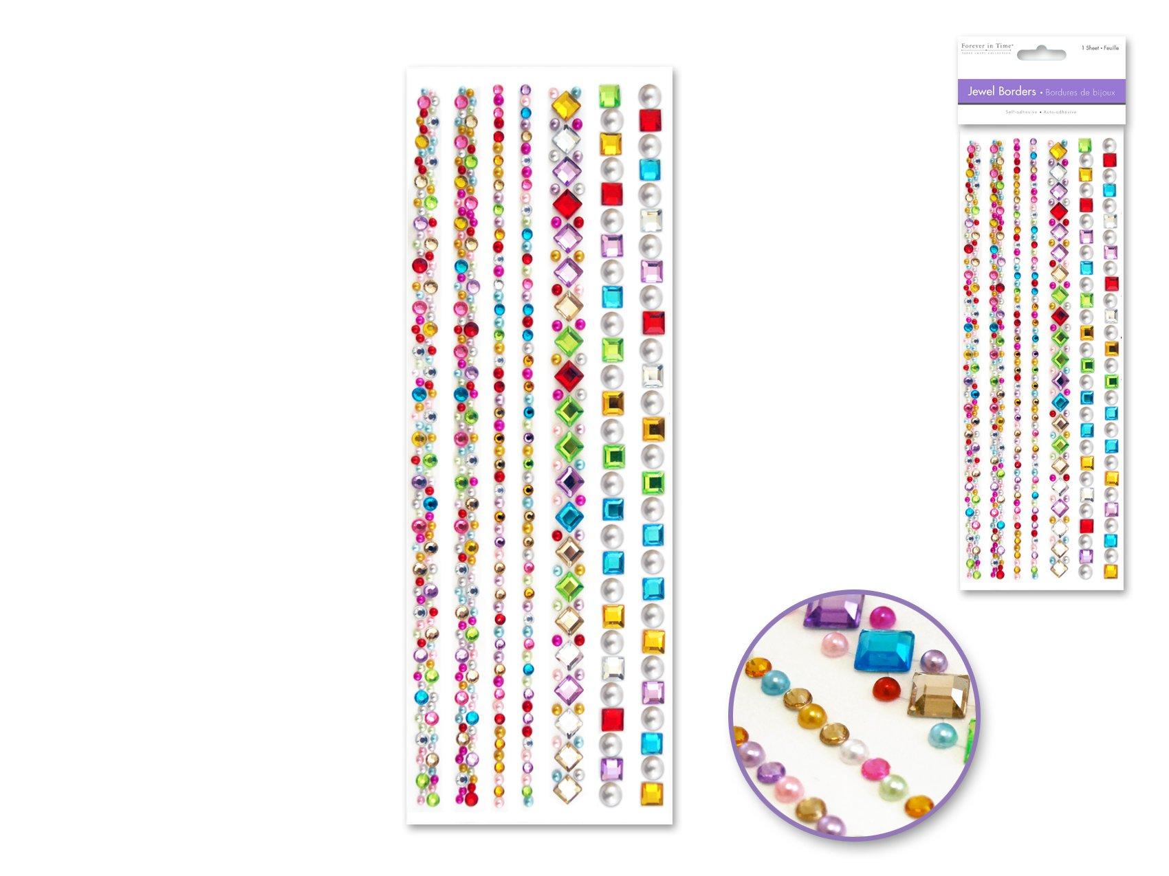 Gem Medley Adhesive Gems