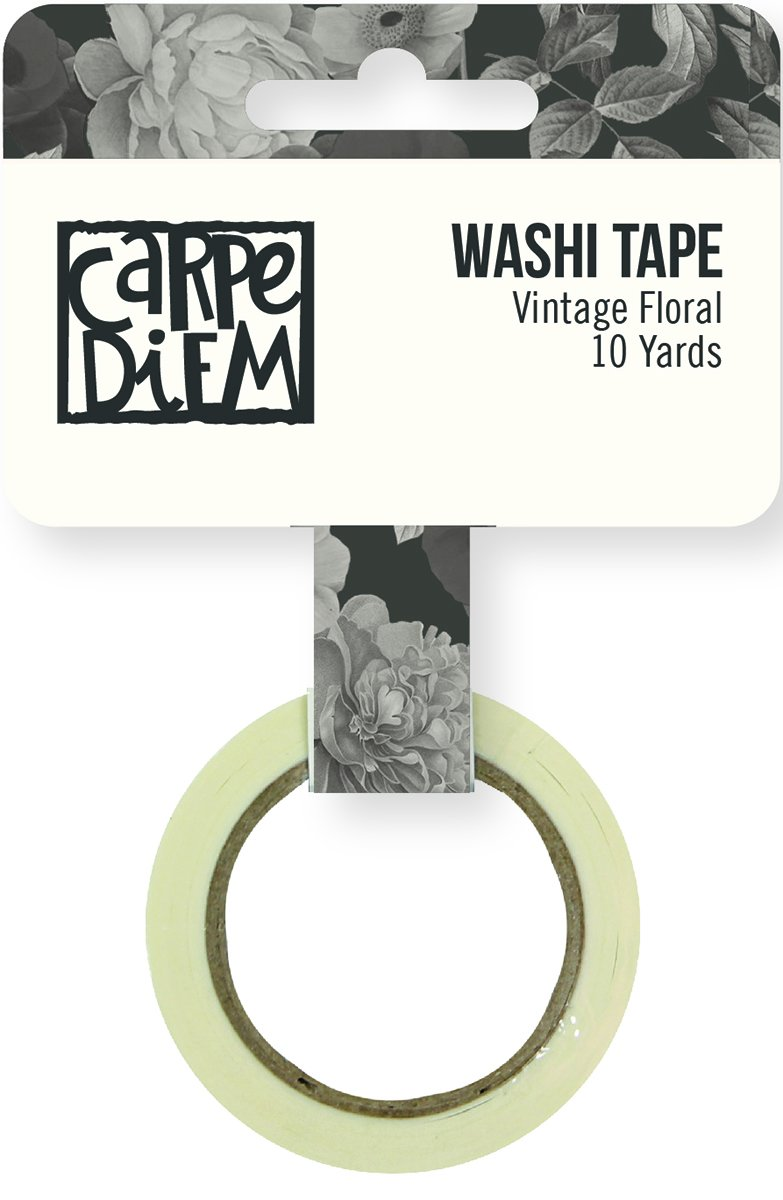 Simple Stories BEAUTIFUL-Vintage Floral Washi Tape
