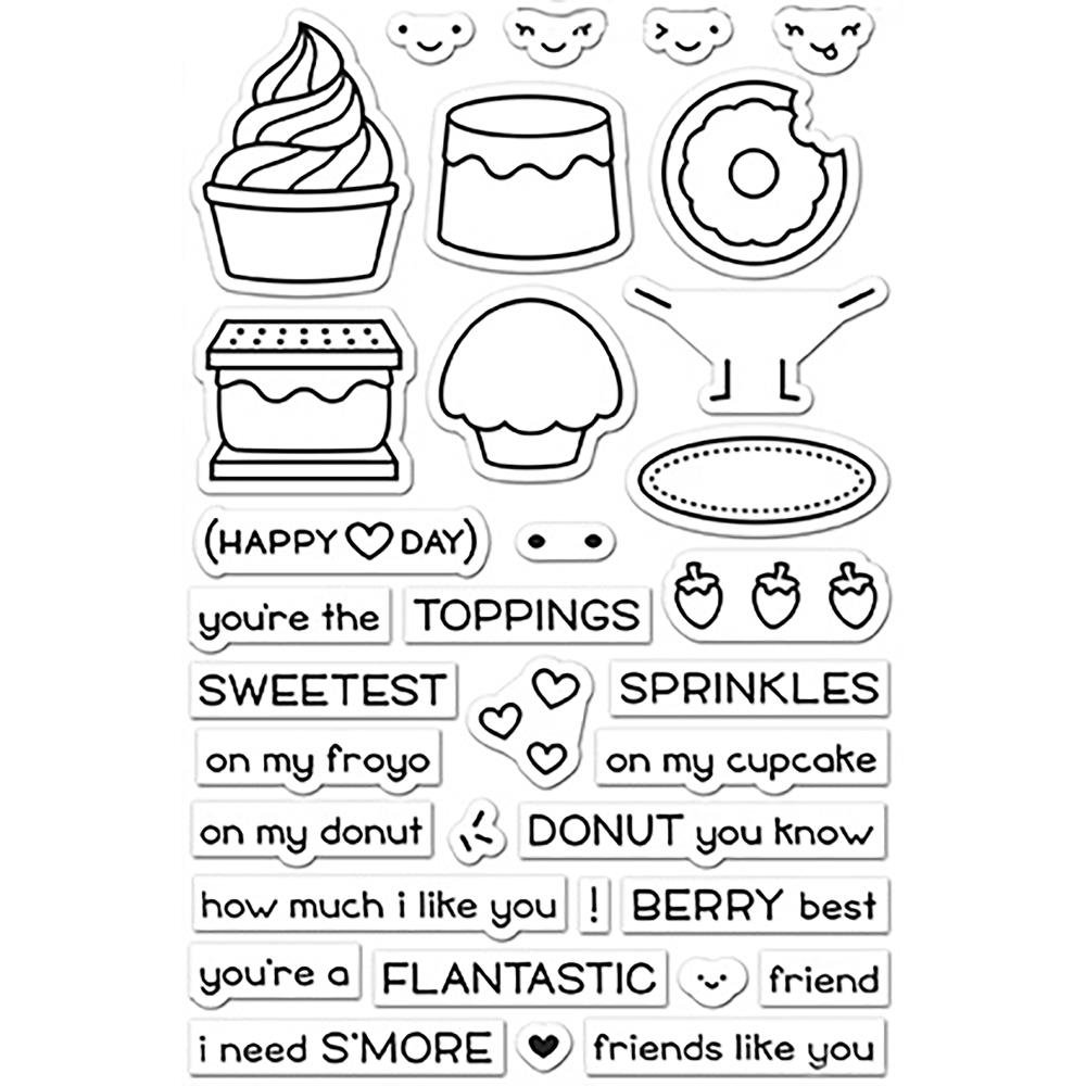 Lawn Fawn Stamps- Sweet Friends