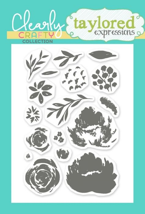 Fresh Picked Florals stamp - TE