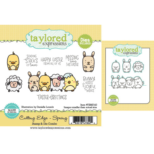 Cutting edge Spring- Taylored Expressions Stamp and Die