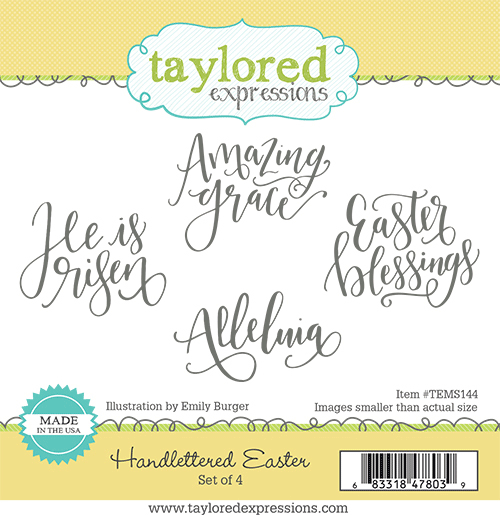 Handlettered Easter- Taylored Expressions Stamp